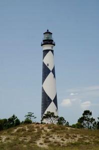 Cape Lookout lighthouse by Jarek Tuszynksi via Wikimedia Commons